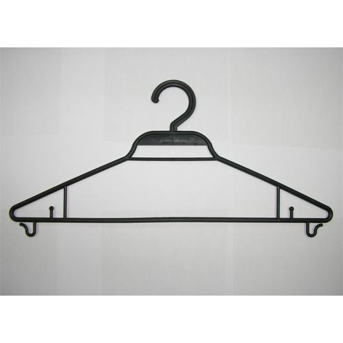закачалки за дрехи черен цвят в пакет от 200 бр.(1001)