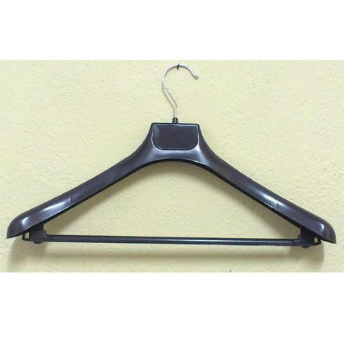 Закачалки за дрехи, широко рамо, черна 1011 пакет 50 бр.(10111)