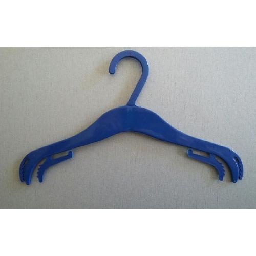 Закачалки за детски дрехи син цвят пакет 200 бр.(1005)
